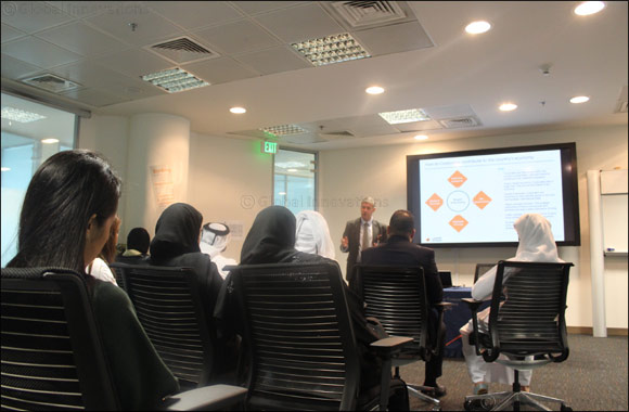 al Khaliji Bank organizes session on Corporate Banking for Northumbria University students