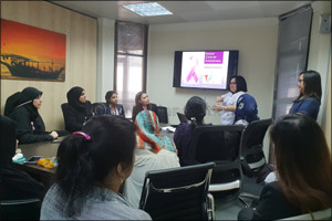 QIC Group conducts Pink Month campaign