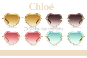 Chlo� Eyewear's Feminine Appeal Seen Through the Lens of the New �Rosie� Style