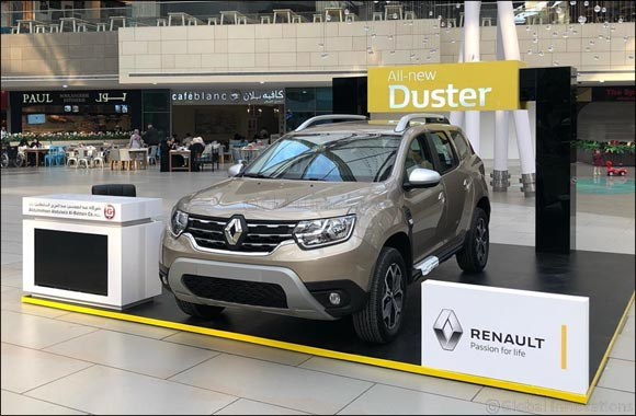 Renault Al Babtain Displays its unstoppable SUV – the all-new Duster –at The Avenues Mall