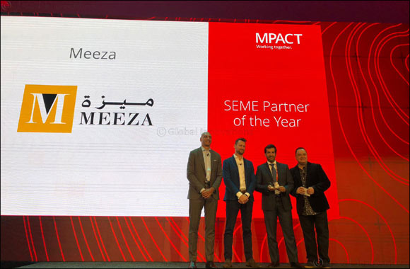 MEEZA receives 'SEME Partner of the year' Award by McAfee at MPOWER Cybersecurity Summit