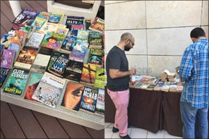 Book Swap initiative by City Centre Rotana Doha succeeds in bringing together Qatari book connoisseu ...