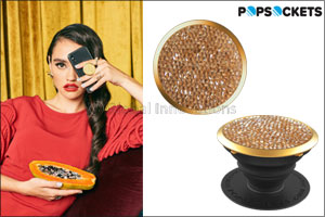 PopSockets launches a new collection with crystals from Swarovski, the must-have accessory for the H ...