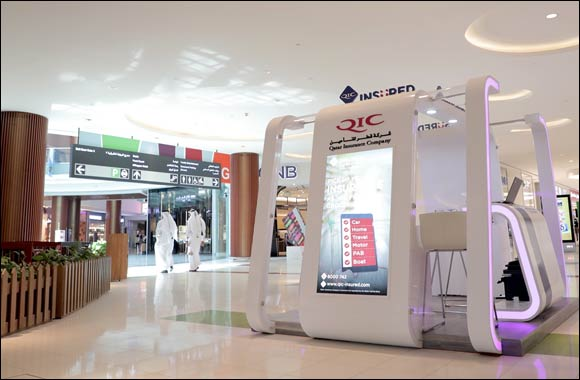 QIC Insured opens two new kiosks at leading malls in Qatar