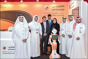al khaliji takes part in TAWTEEN launch event as the Sponsor