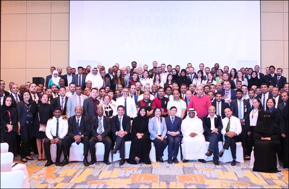 "Al Meera hosts ""2018 Champion Awards"" event to honor outstanding staff, branches and departments"
