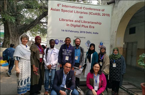 UCL Qatar Library and Information Studies students go to India to get insights on Libraries and Librarianship in the Digital Era