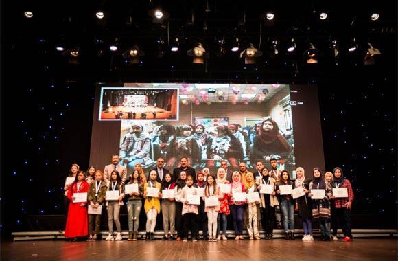 Omar Al Ma'aita crowned Arab Reading Challenge in Palestine