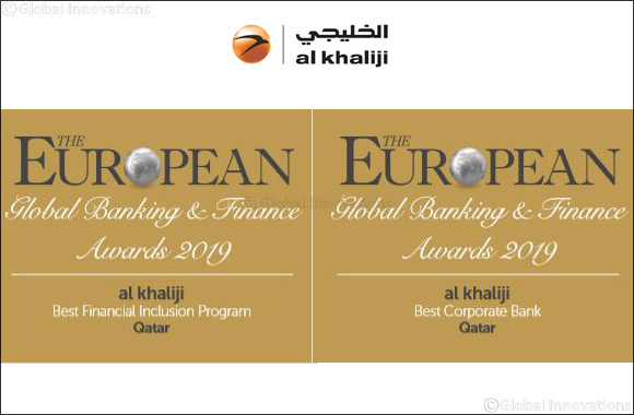 Al Khaliji Bank wins big at the European Magazine Awards
