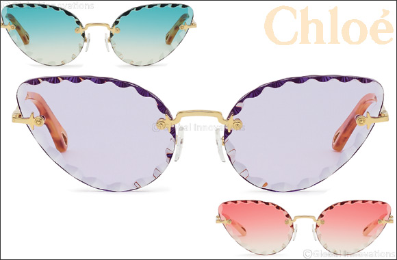 "Chloé Launches The New Spring/summer 2019 Advertising Campaign Featuring Two Iconic ""rosie"" Style Sunglasses"