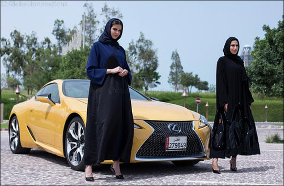 Lexus Qatar sponsors the 15th Heya Arabian Fashion Exhibition as Official Car.