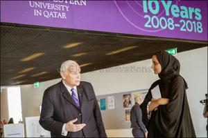 Her Highness Sheikha Moza bint Nasser Officially Dedicates Region's First Museum on Media