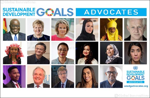 UN Secretary-General re-appoints HH Sheikha Moza, EAA's Founder and Chairperson, as part of the 2019-2020 class of Sustainable Development Goals' Advocates