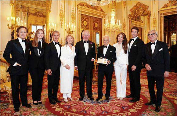 Ralph Lauren Presented with an Honorary UK Knighthood