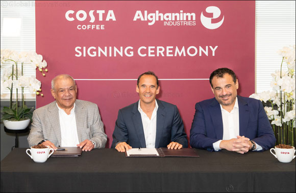 Costa Coffee and Alghanim Industries Expand Middle East Partnership