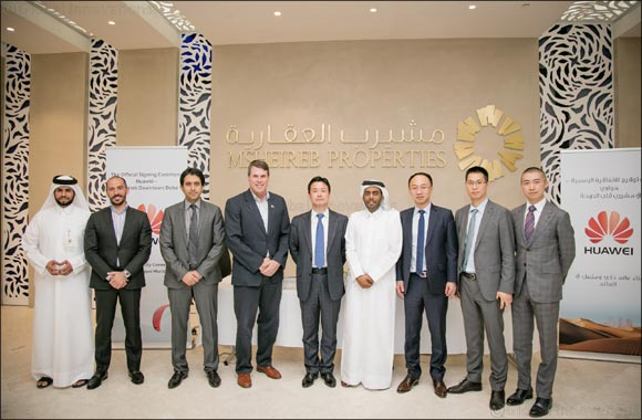 Msheireb Properties and Huawei Sign Cooperation Agreement to Bring Smart Experience Centre to Msheireb Downtown Doha