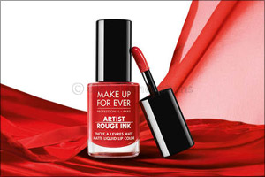 Ink Your Lips This Summer With Artist Rouge Ink, Make Up for Ever's New Airlightlip Color