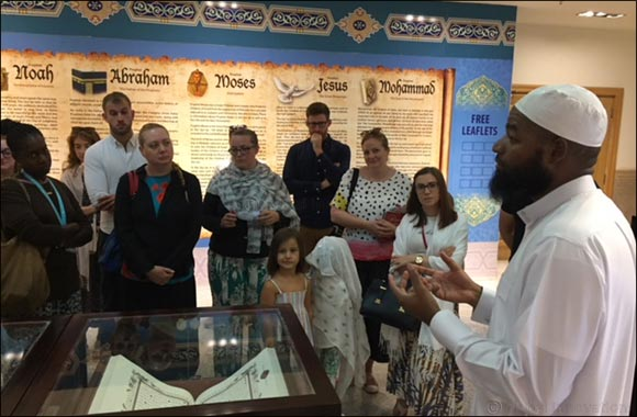 Compass International School Doha Team Visit the Sheikh Abdulla Bin Zaid Mahmoud Islamic Cultural Center