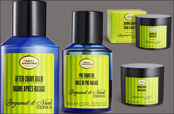 The new Bergamot & Neroli collection, inspired by the warmth and energy of Mediterranean beaches!