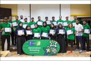 School children in Qatar and Oman to benefit from Generation Amazing sessions