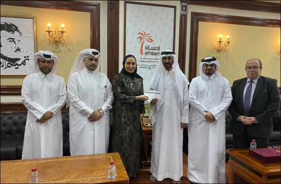 Al khaliji Bank extends its support  to EHSAN Centre's charitable activities