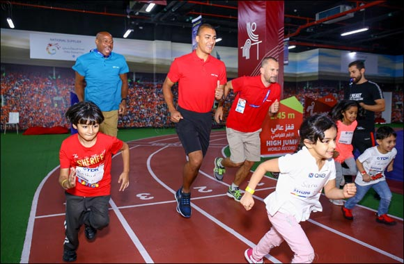 World Athetics Champions Visit Doha Festival City to Wrap Up the Mini Athletics Championship Comeptitions