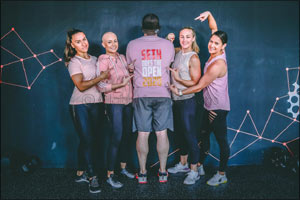 Sit Down with Seth  Fights Cancer Through Fitness