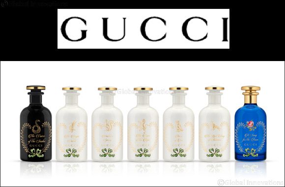 Gucci The Alchemist's Garden fragrance collection is now available at Sephora Middle East!