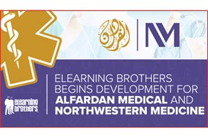 eLearning Brothers Begins Development for Alfardan Medical and Northwestern Medicine