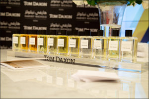 Tom Daxon, International Fragrance Connoisseur Visits