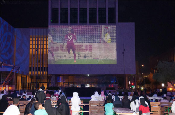 Msheireb Downtown Doha Attracts Football Fans From Across Qatar