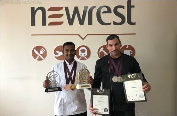 2 Newrest Chefs Honored during Hospitality Qatar Expo – Salon Culinaire 2019