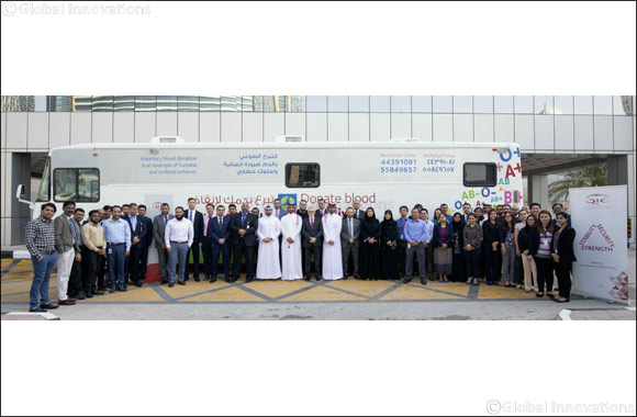 Qatar Insurance Group holds blood donation drive'