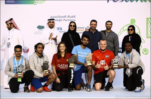 Generation Amazing Festival 2019 inspires 140 youth from Qatar and 24 countries across the world