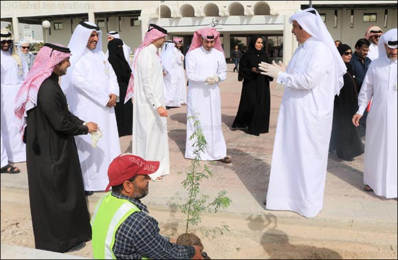 Qatar Post Leads on Tree Planting Mission