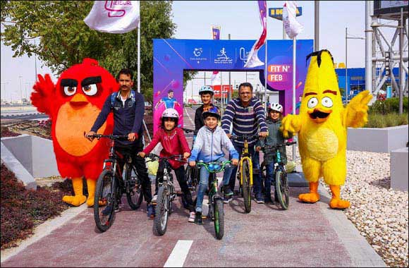 The Community Celebrates Sports Day at Doha Festival City