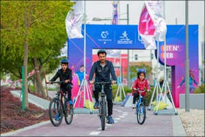 The Community Celebrates Sports Day at Doha Festival City
