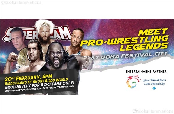Doha Festival City, the One and Only Choice for Entertainment, announced as Platinum Sponsor of Super Slam II