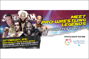 Doha Festival City, the One and Only Choice for Entertainment, announced as Platinum Sponsor of Supe ...