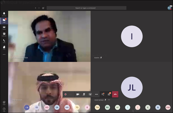 QFBA in Partnership With Northumbria University Launched Its 1st Interactive Webinar on the Impact of COVID-19 on Qatar's Economy and Financial Sector.