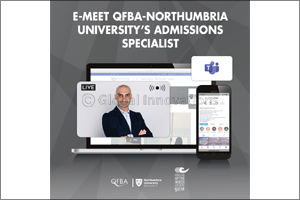 QFBA in Partnership with Northumbria University Hosts Virtual Admissions Session with CNA-Q students