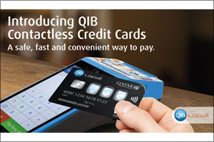 All QIB's New and Replacements Credit Cards Are Now Contactless to Support Tap & Pay Transactions
