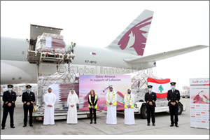 Qatar Airways Group Organises Efforts to Send Food and Other Essential Supplies from Doha to Beirut