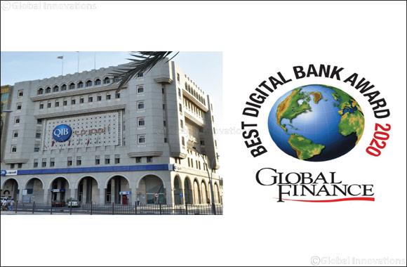 QIB Receives 2 Prestigious Awards for the Middle East World's Best Consumer Digital Banks Awards