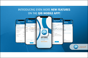 QIB Continues to Introduce New Features on its  Award-Winning Mobile App