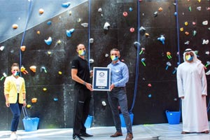 CLYMB� Abu Dhabi Breaks Two GUINNESS WORLD RECORDS� titles