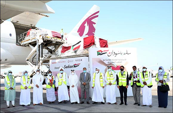 Qatar Airways Group Organises Efforts to Send Almost 100 Tonnes of Essential Supplies from Doha to Khartoum