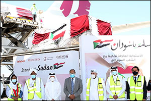Qatar Airways Group Organises Efforts to Send Almost 100 Tonnes of Essential Supplies from Doha to K ...