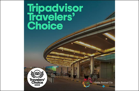 Doha Festival City Wins 2020 Tripadvisor Travelers' Choice Award in Recognition of being amongst the Top 10% of Travel and Hospitality Attractions across the Globe  Doha Festival C