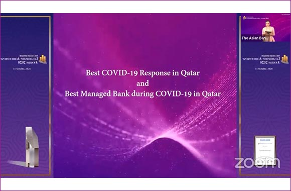 """The Asian Banker Presents QIB Group CEO Top Award for """"Best Bank CEO Response to COVID-19 in Qatar""""  & Names QIB """"Best Managed Bank during COVID-19 in Qatar"""""""